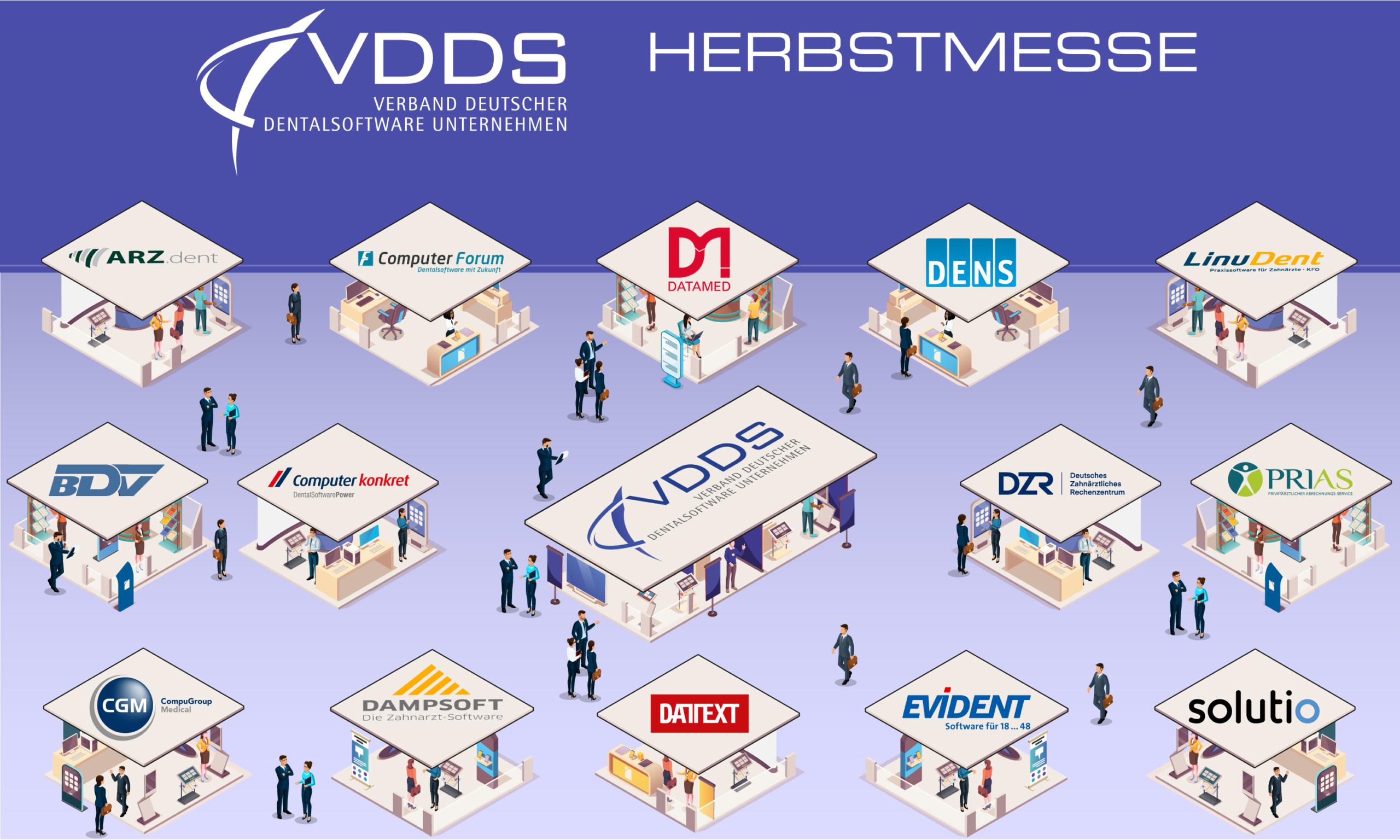 VDDS Herbstmesse - Verband Deutscher Dental-Software Unternehmen